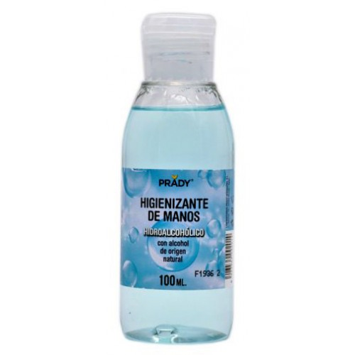 GEL HIDROALCOHOL 100ml  PRADY.