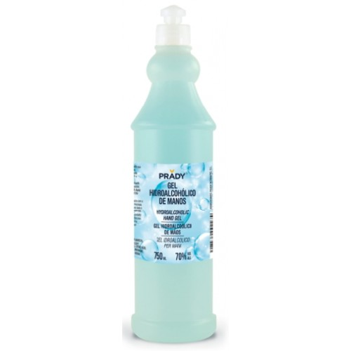 GEL HIDROALCOHOL 750ml  PRADY.